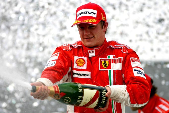 Happy 38th birthday to the man, the myth the legend the Ice Man himself Kimi Raikkonen!