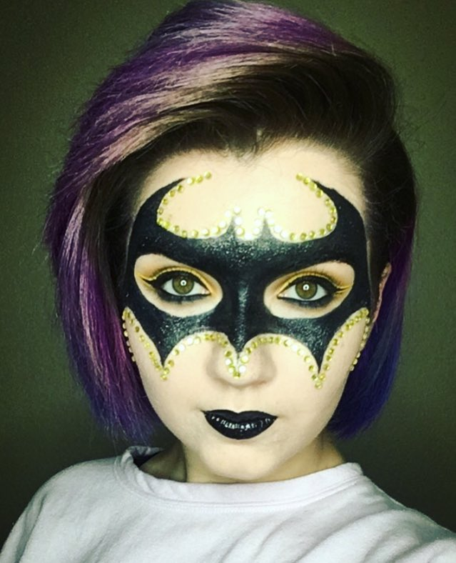 There is a superhero in all of us  #batman  #mua #makeupartist <br>http://pic.twitter.com/KSUpY81659