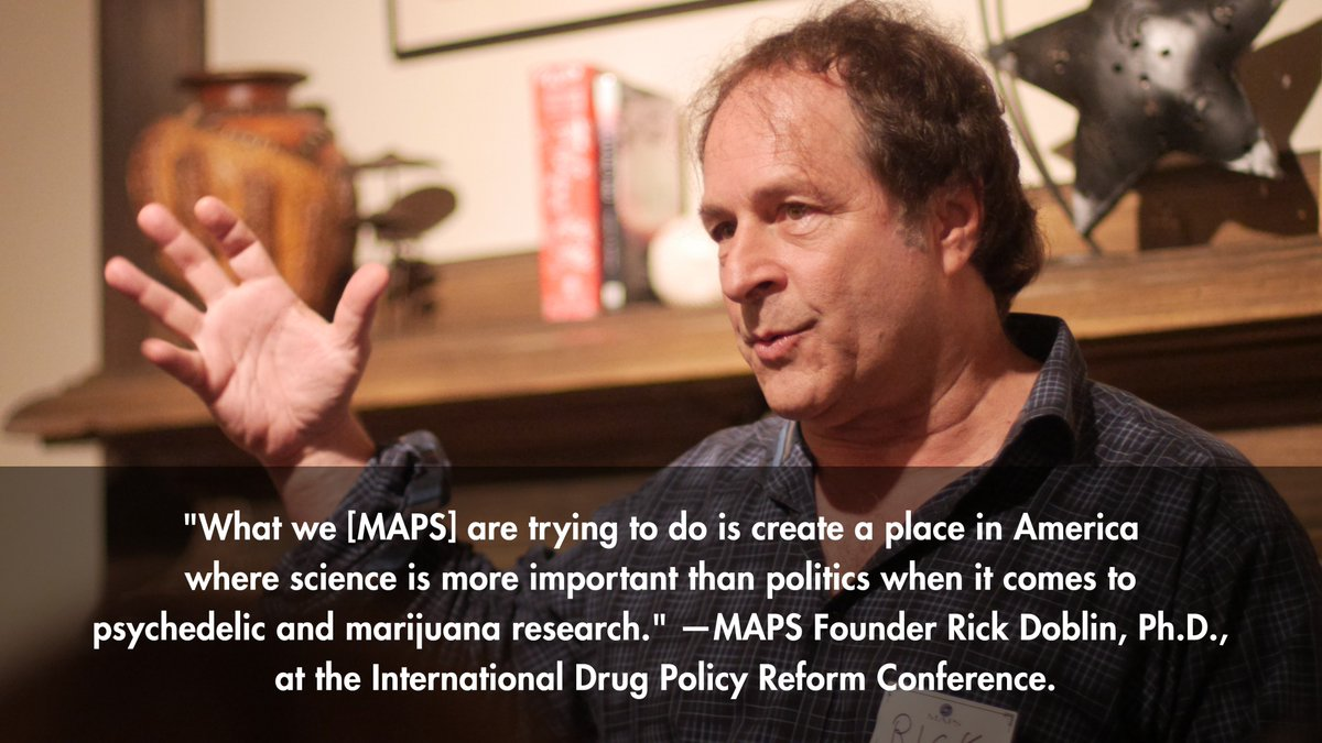 MAPS Founder @RickDoblin at the International Drug Policy Reform Conference (@ReformConf) in Atlanta, Georgia, from 10/11-14/2017. #Reform17 <br>http://pic.twitter.com/QIVi1TzQ1X