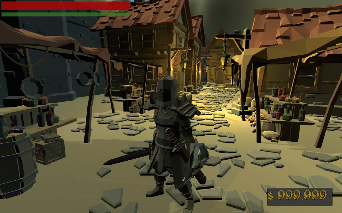 Making further progress! #lowpoly #gameart #indiedev #itchio #unity3d #gamedev #leveldesign #csharp @itchioSharer @unity3d @GameDevBRbot<br>http://pic.twitter.com/oitOcjuUEY