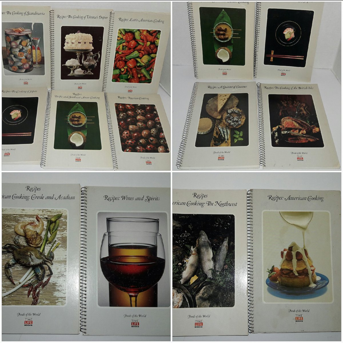 Time Life Foods of The World Recipe Books  https:// rover.ebay.com/rover/0/0/0?mp re=https%3A%2F%2Fwww.ebay.com%2Fulk%2Fitm%2F112606881241 &nbsp; …  #Cooking #vintage #internationalfood #books<br>http://pic.twitter.com/I2D15Zj18u