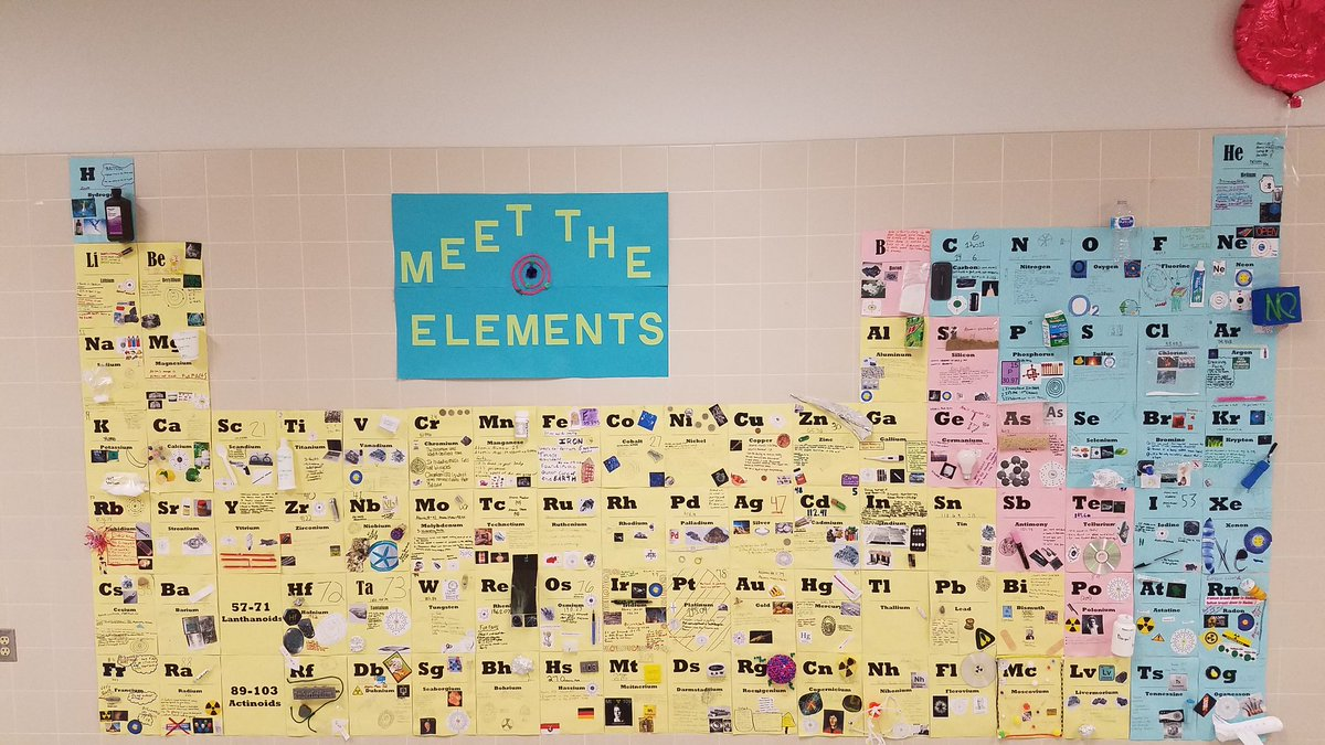 Leslie hulsey on twitter meet the elements 3d periodic table put leslie hulsey on twitter meet the elements 3d periodic table put up love this project irons6thgraders ilovescience thisispubliceducation urtaz Images