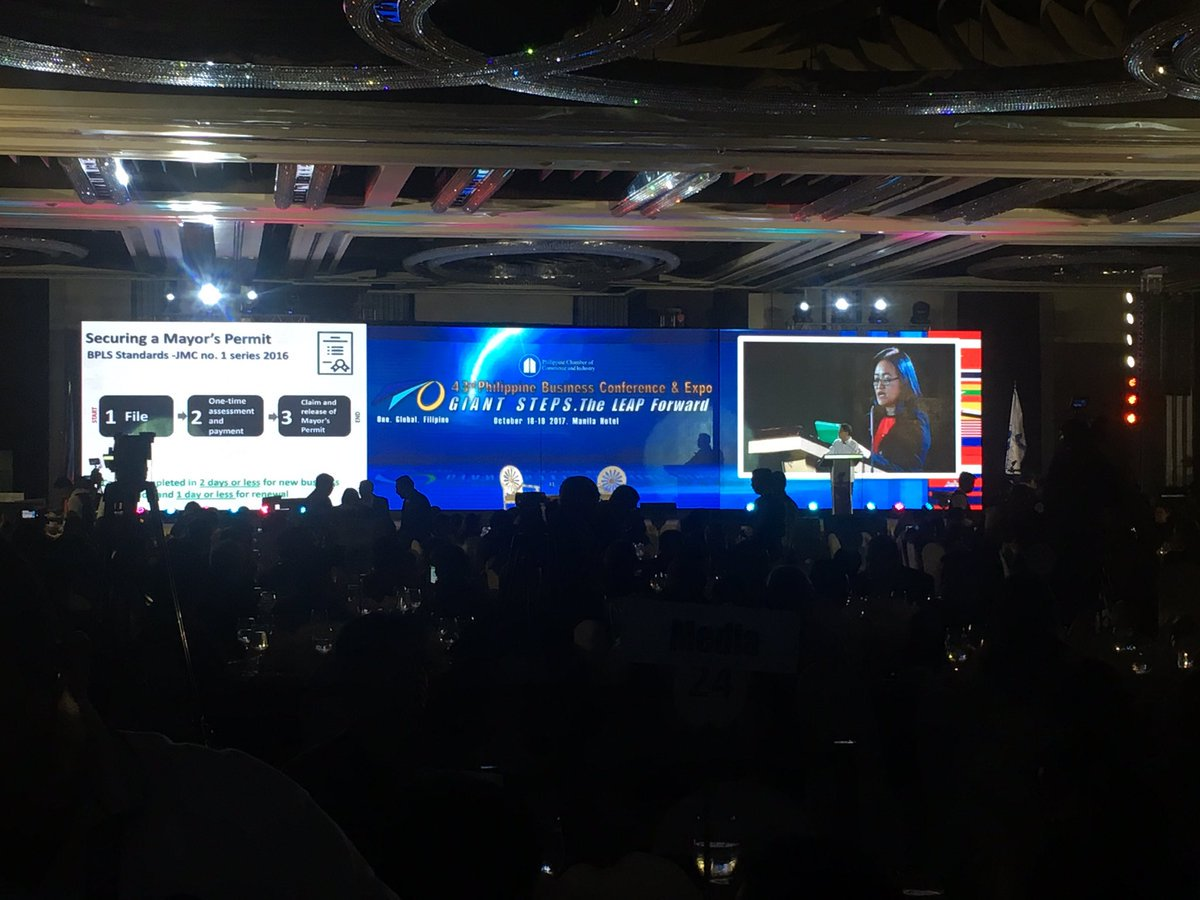 This year's two-day Philippine Business Conference opens today here at Manila Hotel. | via @madmiraflor