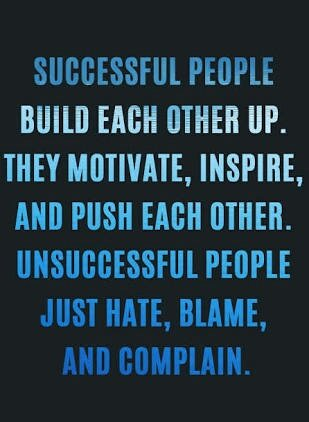 Inspirational Quotes On Twitter Successful People Build Each Other