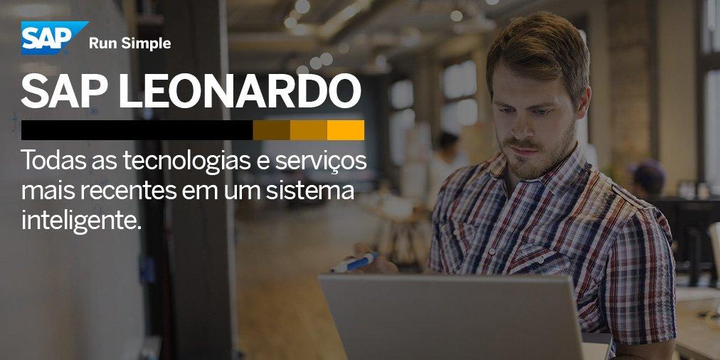Explore as soluções escaláveis e acessíveis que SAP Leonardo pode oferecer para o seu negócio. Confira: https://t.co/ZkAla2bPcZ