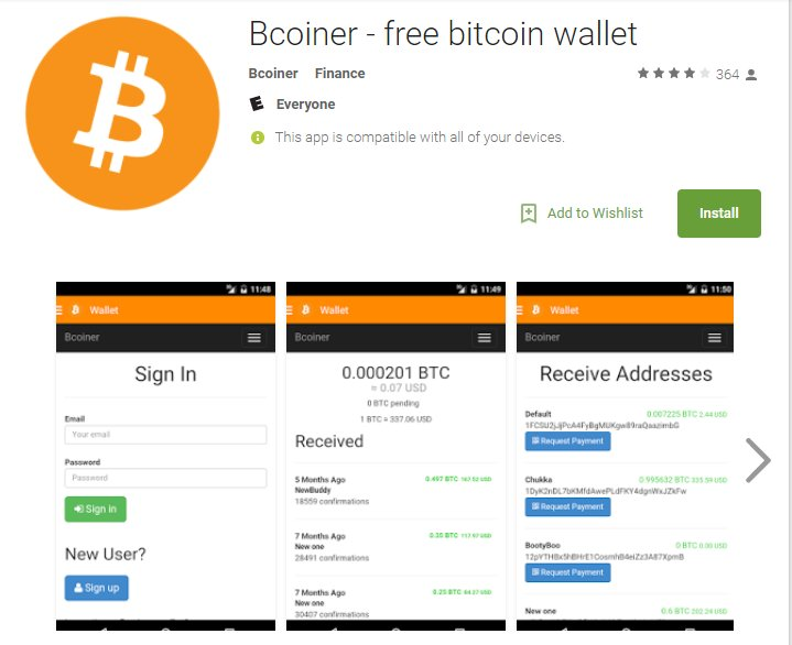 #Download Bcoiner - free bitcoin wallet. Get our free bitcoin wallet and start using bitcoin today.  #RT  https:// play.google.com/store/apps/det ails?id=com.bcoiner.webviewapp &nbsp; … <br>http://pic.twitter.com/GNCdqzD8PX