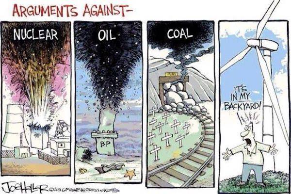 Argumentos contra: nuclear - petróleo -...