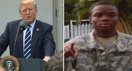 Trump to widow of Sgt. La David Johnson:...