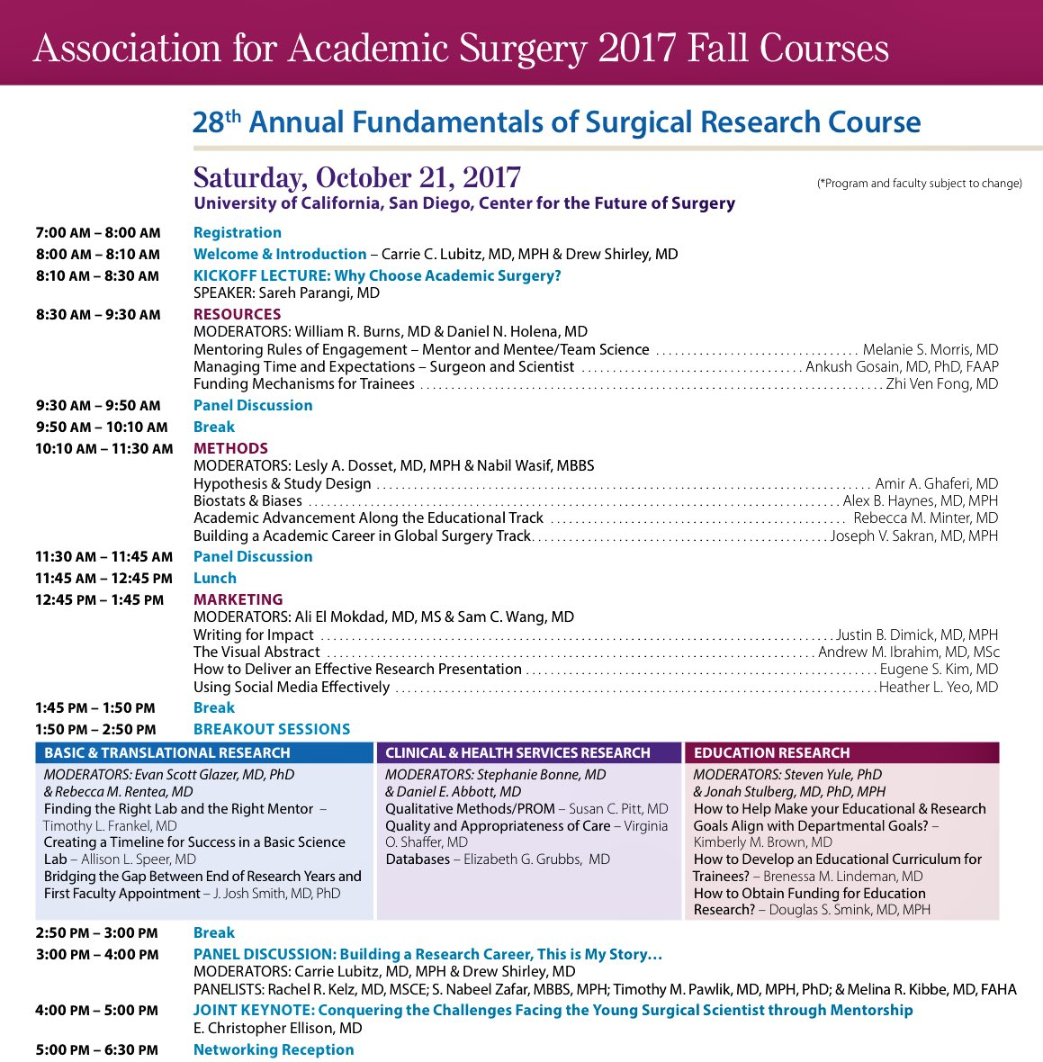 The @AcademicSurgery Fall Courses will feature a talk by @heatheryeomd discussing #SoMe in academia. How are you using his resource/tool? <br>http://pic.twitter.com/JC6dMX5nRr