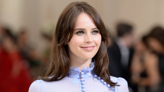 Happy birthday to the gorgeous English Oscar nominated actress Felicity Jones.
