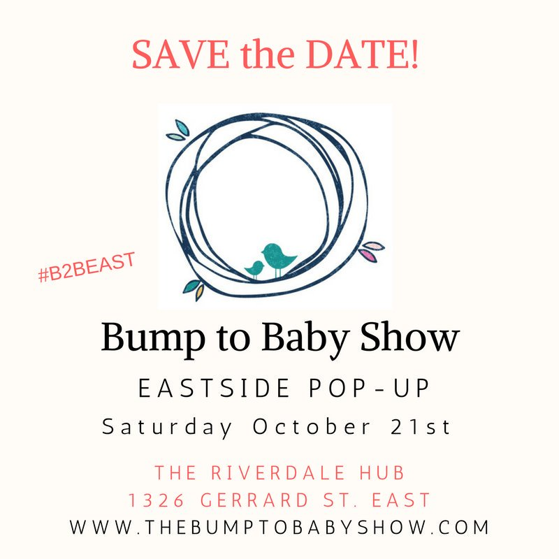 Come to #B2BEast for a #healthconscious family event @theriverdaleHUB Make sure to visit our booth to find out about our new #baby line.