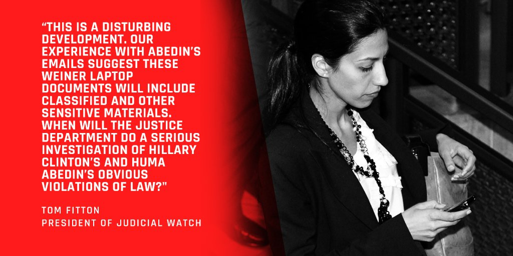 FBI found 1000&#39;s of #HumaAbedin emails on #AnthonyWeiner&#39;s laptop. Time for a real #Clinton #Abedin investigation.   http:// jwatch.us/mDXfxp  &nbsp;  <br>http://pic.twitter.com/kTZ6FA4PJc