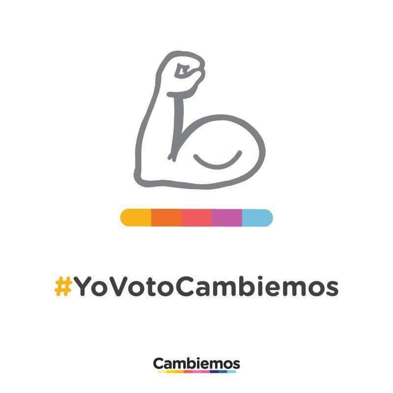 El 22 de octubre #YovotoCambiemos https:...