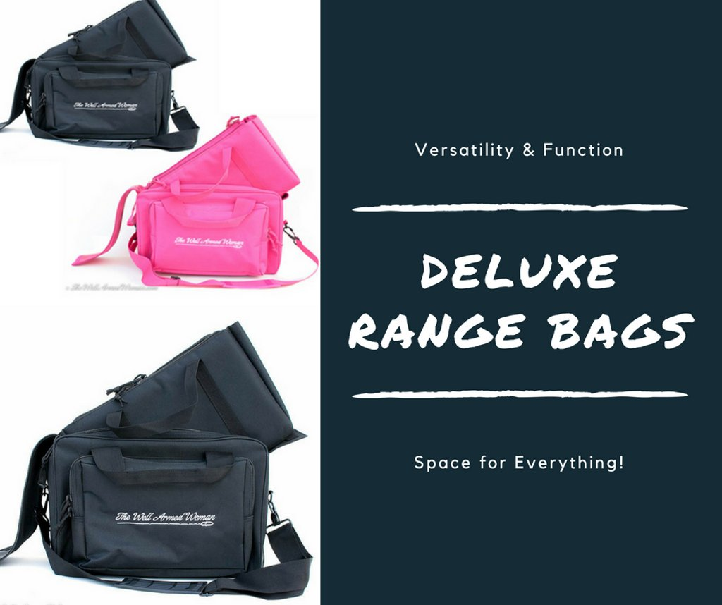 The Deluxe Range #bag by The Well Armed Woman has the space for everything you need for a day at the #range!  http:// ow.ly/Hi6e30fVkCl  &nbsp;  <br>http://pic.twitter.com/stfkSweuS9