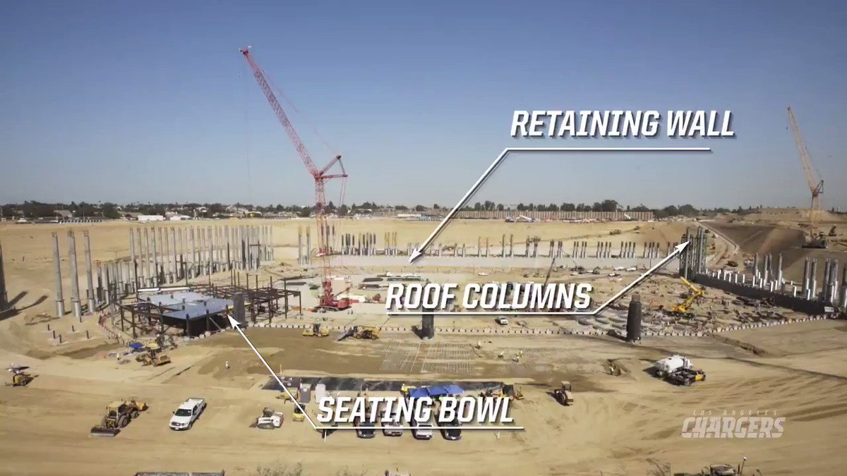 An update on the progress of the new stadium. https://t.co/sO8AdZnmZN