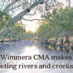Wimmera CMA makes protecting rivers & creeks easy. Apply online https://t.co/WT2ovrWOxc @LisanevilleMP @VicEWH #Wimmerawaterways