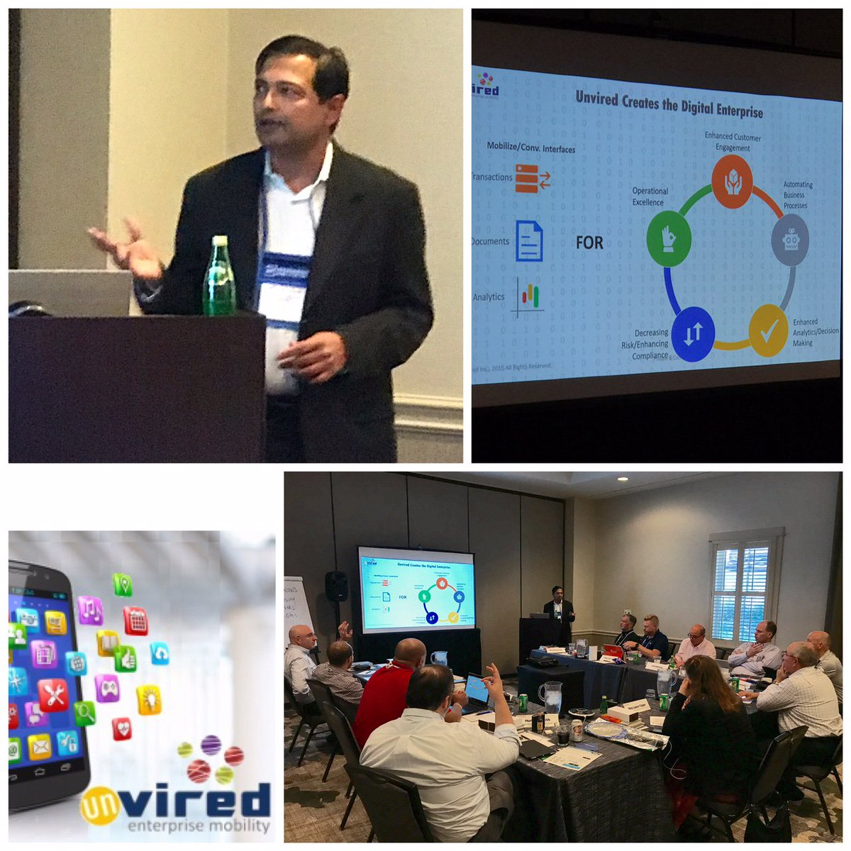 #Unvired CEO, Alok Pant speaking on #DigitalTransformation- #MobileApps &amp; #VirtualAssistants - at #MCIOF  #EnterpriseMobility #Chatbots<br>http://pic.twitter.com/Um0e9OZJsj