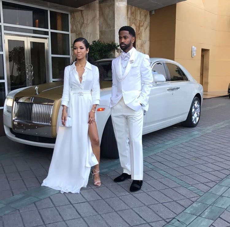 Big Sean & Jhené Aiko headed to the #TheManeEvent tonight. Crisp....