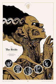 Interesting #poster for The #bride of #Frankenstein<br>http://pic.twitter.com/icf0TdDlCB