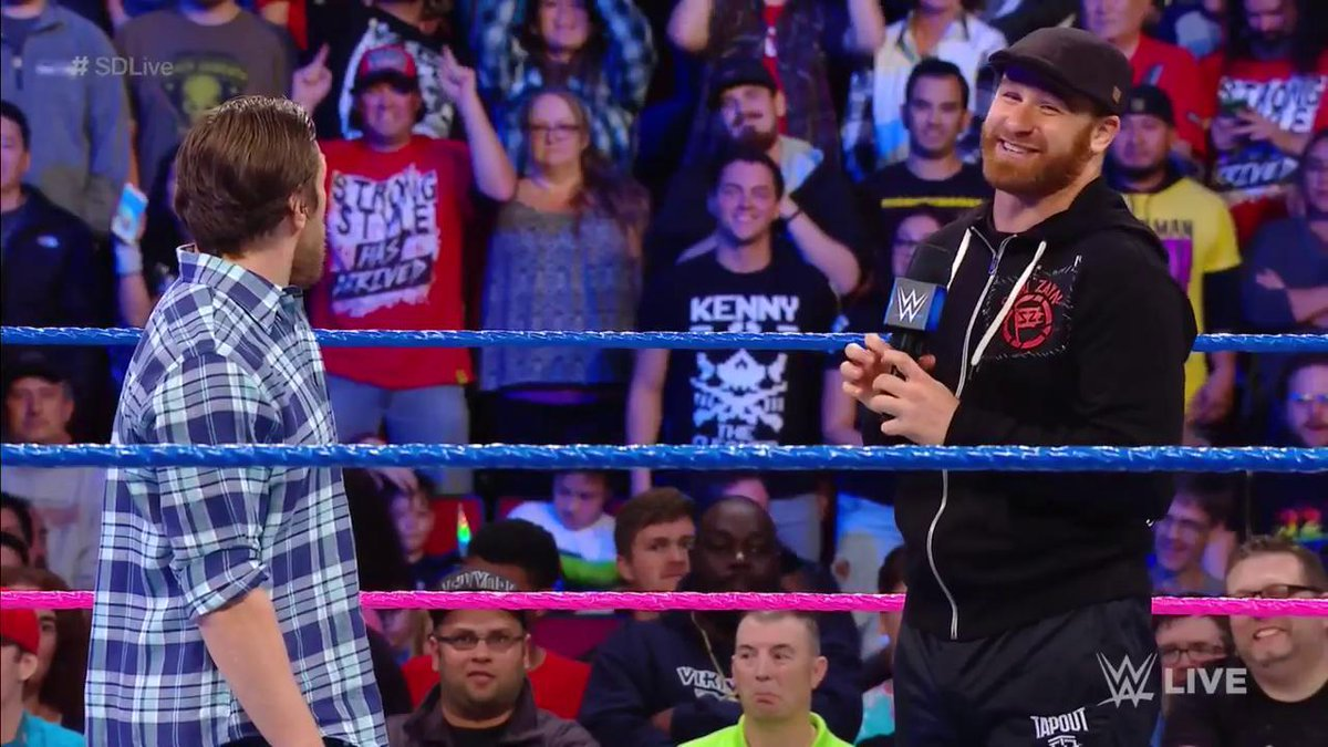 'The big difference between you and me, @WWEDanielBryan, is you had THEM!' @iLikeSamiZayn feels betrayed by@WWEUniverse t#SDLivehe .
