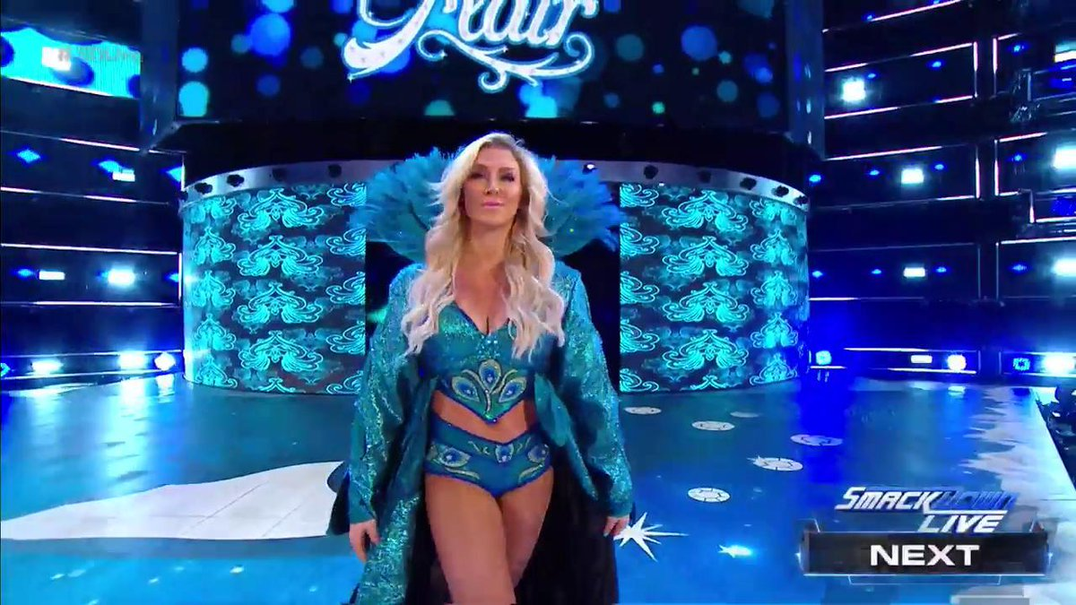 #TheQueen has arrived...  @MsCharlotteWWE will compete in a 6-Women #T...