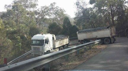 Truck fleet inspected after tipper and d...