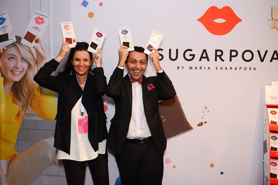 @MariaSharapova&#39;s Sugarpova heads to Downtown LA January 6 to support @StBaldricks Help end childhood cancer #chocolate we&#39;re going 2 #DTLA<br>http://pic.twitter.com/lAStUQfkq4