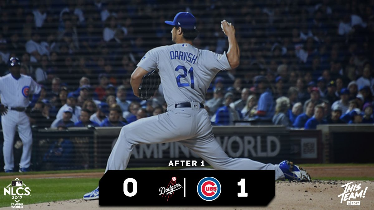 Cubs strike first. Andre Ethier will lead off. #ThisTeam https://t.co/...