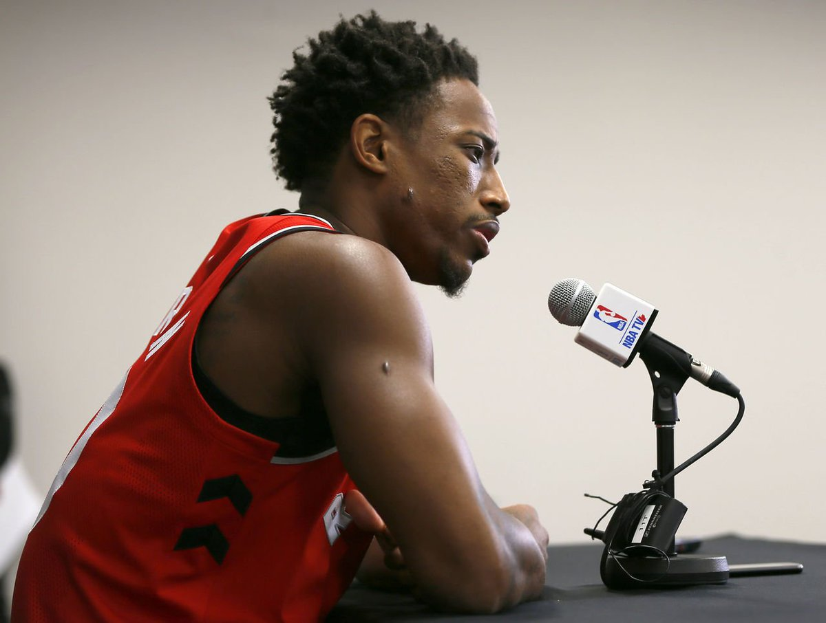 DeRozan rips Skip Bayless for his reaction to Hayward's injury https:/...