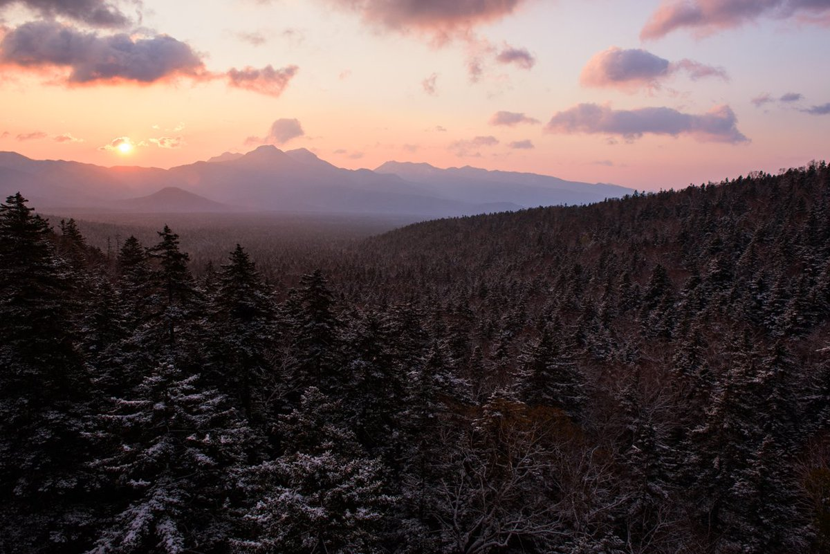 北海道・三国峠はもう雪景色です。 #三国峠