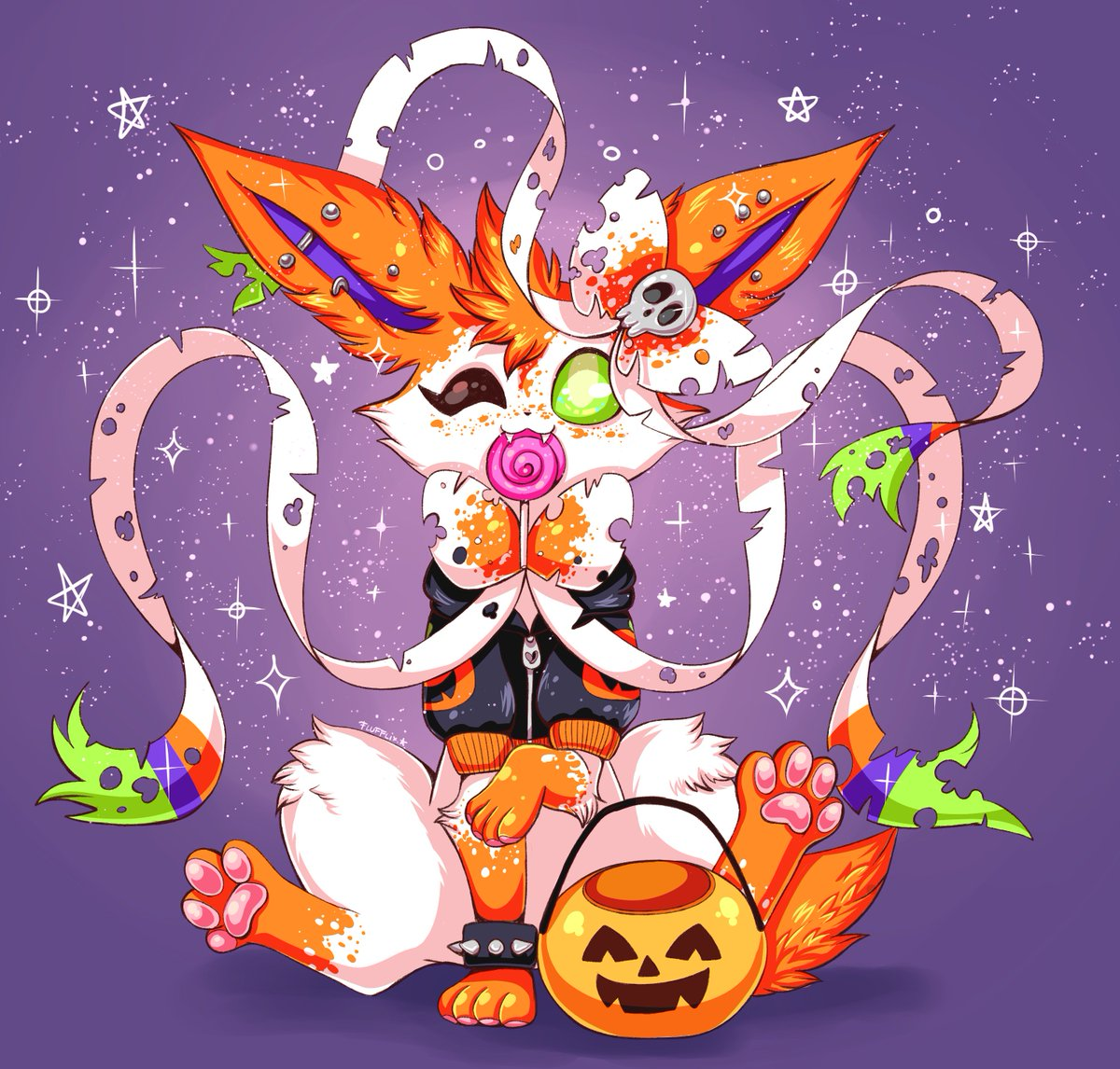 Twick or tweat!  #halloween #pokemon #sylveon<br>http://pic.twitter.com/xKoMwteGdg