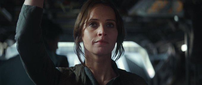 Just wanted to wish Felicity Jones a Happy Birthday from the Resistance!