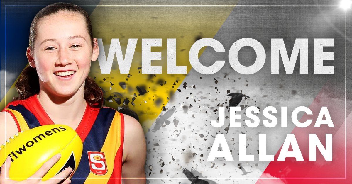Learn more about our first pick in the #AFLWDraft Jess 'Junior' Allan!...
