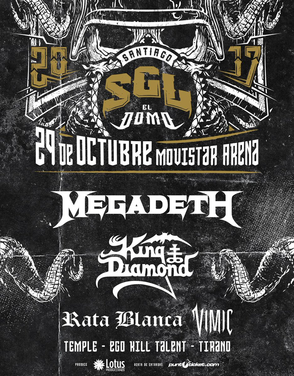 Hi @DaveMustaine  The day is near !! Welcome again to #chile with @Megadeth  \m/<br>http://pic.twitter.com/mc6Tu3Kucb