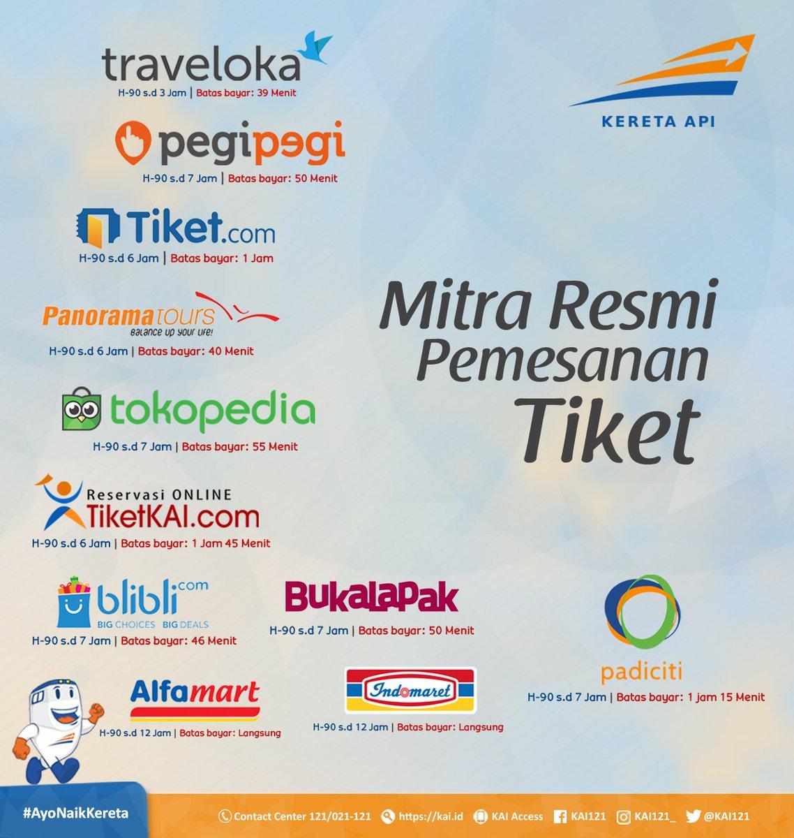 Kereta Api Indonesia On Twitter Beragam Mitra Channel Resmi Kami