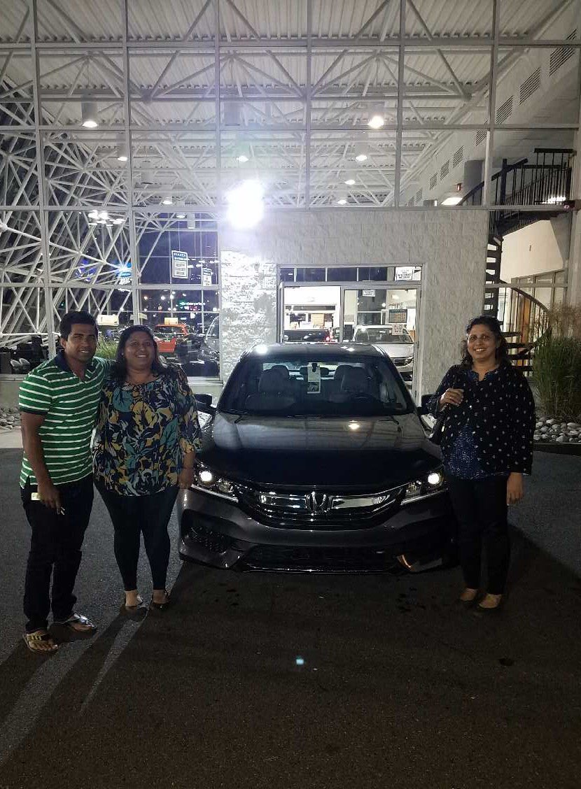 #congratulations Seju, Sales Consultant Sophan Son dedicated himself to find the Samuel family the perfect car, a CPO 2017 #honda #accord ! <br>http://pic.twitter.com/paEoXifK0q