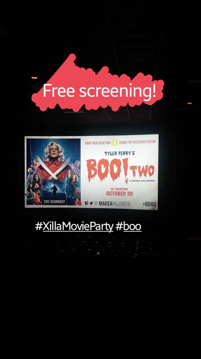 Thank you #XillaMovieParty for the Madea #boo2 premiere! https://t.co/...
