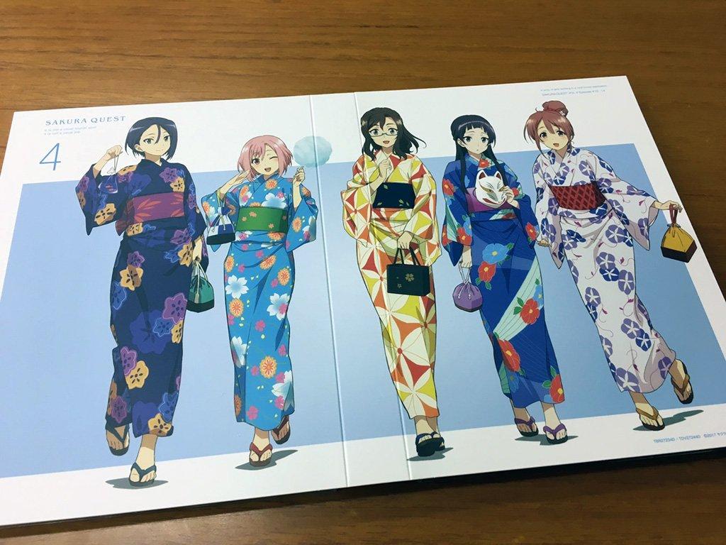 Tvアニメ サクラクエスト 出勤中 On Twitter 4巻 本日発売