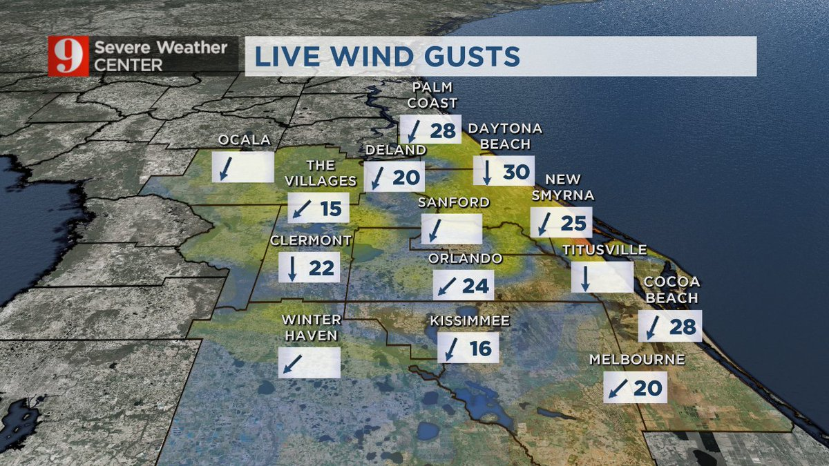 It's windy AND rainy along our east coast tonight.  @WFTV https://t.co...