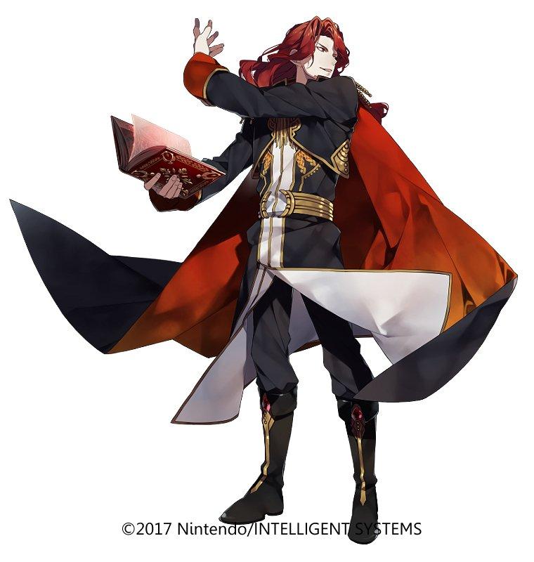 『ファイアーエムブレムヒーローズ』本日より開始されました「大英雄戦 神炎の皇帝アルヴィス」にてアルヴィスを担当させていただきました。どうぞよろしくお願いいたします。#FEヒーローズ @FE_Heroes_JP