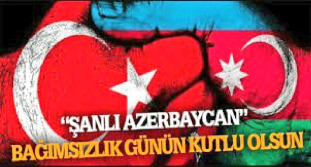 İki beden bir can Türkiye Azerbaycan.... İki devlet bir millet... Bağı...