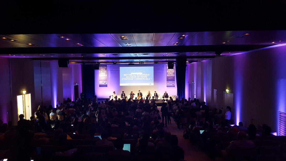 Le #Numérique On top durant ces 2 jours #SDE2017 #Marseille avec plus de 10 000 entrepreneurs ! #GototheWeb  - FestivalFocus