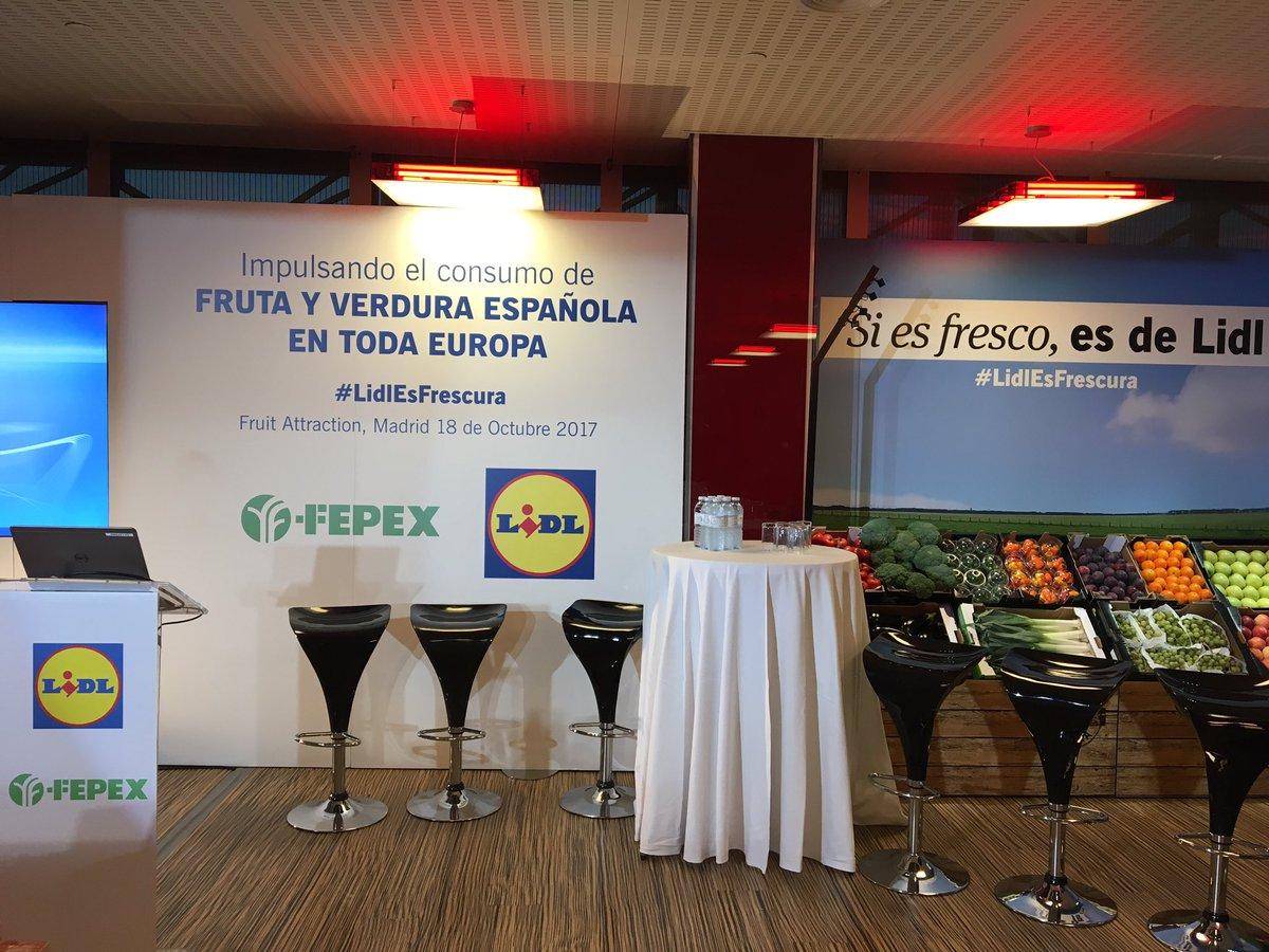 Hoy estamos en #Ifema @Feriademadrid en la @FruitAttraction. ¡No te lo...