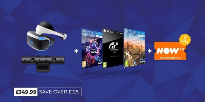 Great #sonyvr bundle with #GTSport ! Don&#39;t miss out, limited stock available.<br>http://pic.twitter.com/ALibUeaKD9