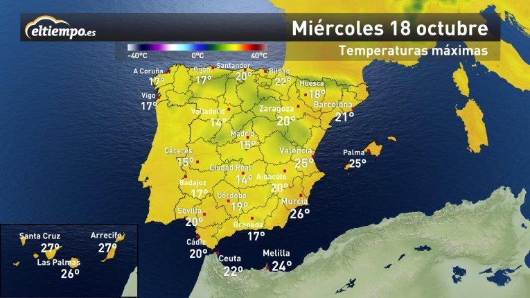 #AYPorFinOtoño Y se nota en el descenso de las temperaturas 🌡 Caída de...