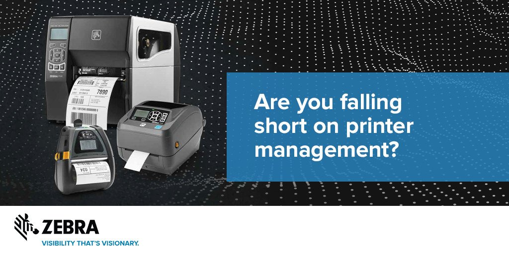 Are you missing out on #business efficiencies due to your #printer management? These 5 reasons could be why!  http:// social.zebra.com/C4xy  &nbsp;  <br>http://pic.twitter.com/l4WDeyJobJ