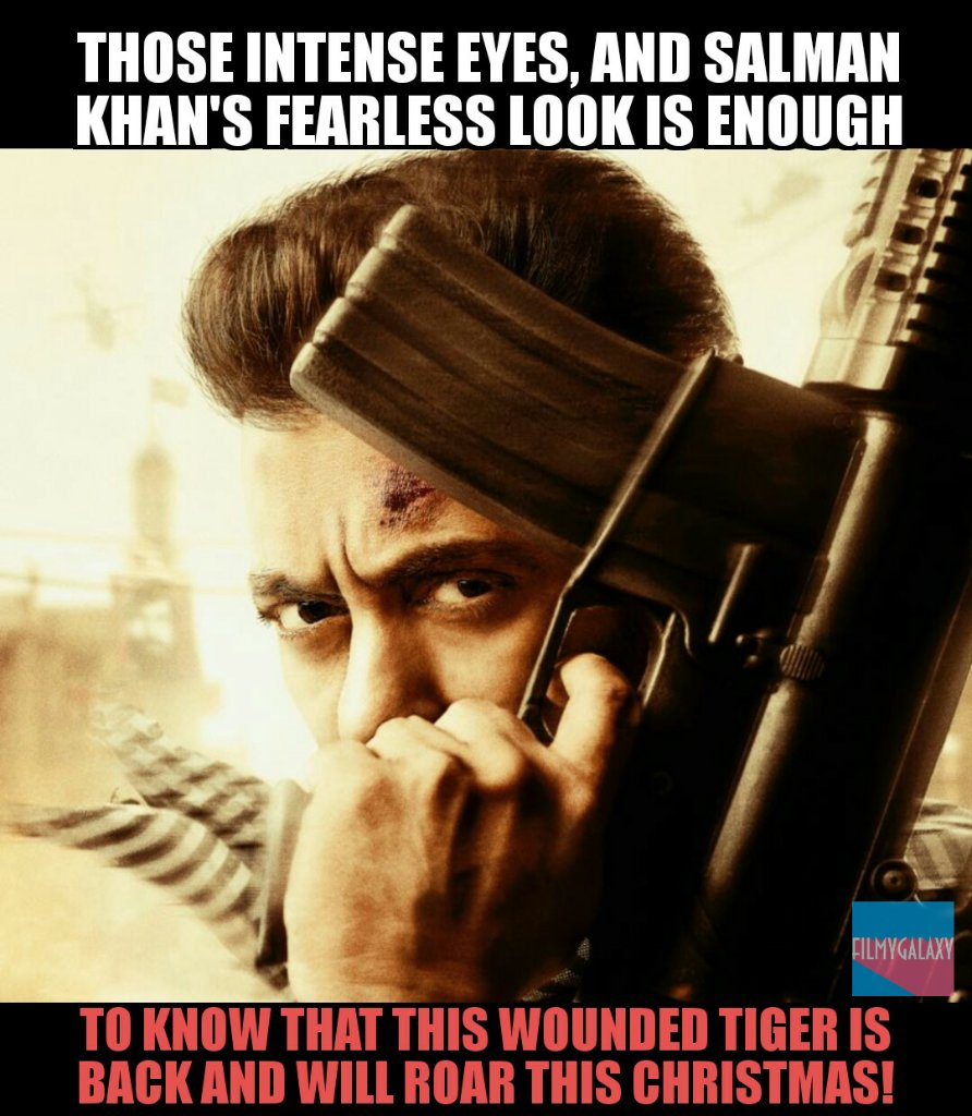 .@BeingSalmanKhan returns and he will roar like a true #Tiger this Christmas! #TigerZindaHai<br>http://pic.twitter.com/yNn9BPggc5