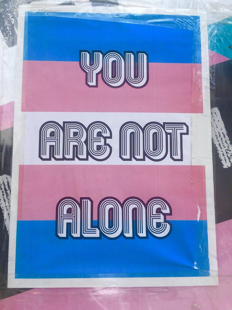Positive rainbow talk on the streets of...