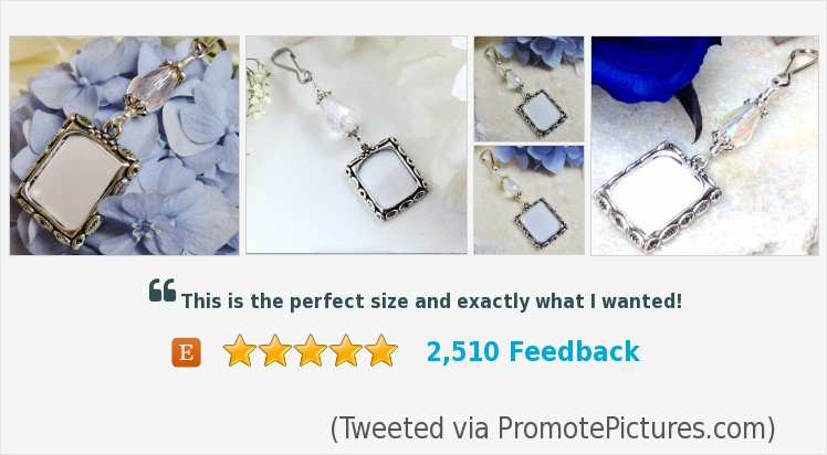 Here&#39;s a lovely bridal gift- Wedding #bouquet photo charm #wedding #bride   https://www. etsy.com/ca/SmilingBlue Dog/listing/109688269/wedding-bouquet-photo-charm-photo-charm?ref=shop_home_active_5 &nbsp; …  (Tweeted via  http:// PromotePictures.com  &nbsp;  )<br>http://pic.twitter.com/CPjQcGlJmc