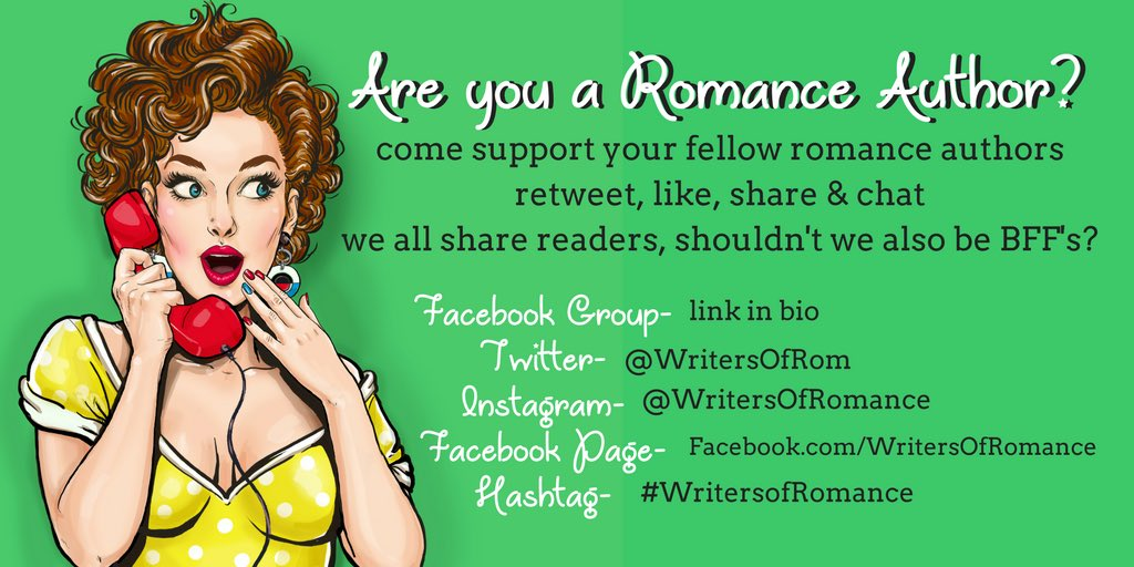 Want to support other #romanceauthors with a tweet4tweet, like4like group?! Join us! The more the merrier!  http:// goo.gl/5nstHp  &nbsp;   #author <br>http://pic.twitter.com/g1WULR9WDL